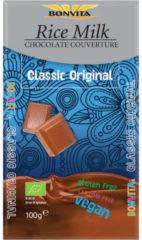 Bonvita Rijstmelk Chocolade Melk Bio (100g)