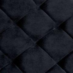 VidaXL Bankje 97 cm fluweel en roestvrij staal zwart