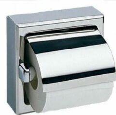 Roestvrijstalen Bobrick enkele toiletpapier dispenser B-6699 heldere gepolijst of gesatineerd