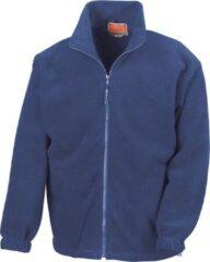 Blauwe RESULT Fleece vest R036X Royal blueXL