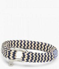 Marineblauwe Pig & Hen armband Bombay Barry