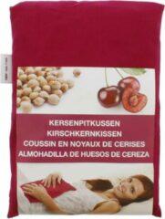 Rode Nature's Choice Luxe kersenpitkussen - 500 gram - Herbruikbaar! - Ideaal voor gebruik bij spierpijn en buik- en rugklachten!