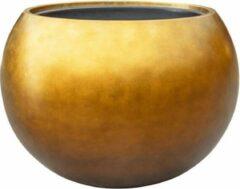 Parelmoer Vaas Grote bloempot bowl honing goud metallic - brede vaas plantenbak