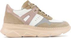 Witte Piedi Nudi Vrouwen Leren Sneakers - M42102-201pn - 42
