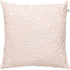 Gele Dutch Decor Kussenhoes Lovuri 45x45 cm roze