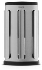 Zilveren Brabantia koffiecapsulehouder met uitneembaar bakje - Matt Steel