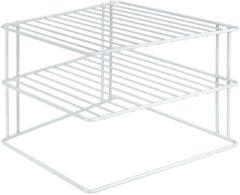 Witte Tomado - Metaltex Metaltex Bordenrek voor in hoek Palio