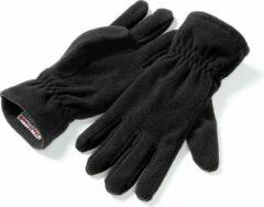Beechfield - Unisex Suprafleece Anti-Pluis Alphine Winterhandschoenen (Zwart)