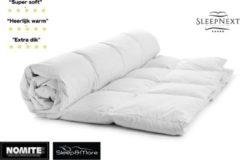 Witte SleepNext Luxe 4-Seizoenen NL Hotels dekbed - 2.persoons - 200x200cm