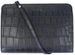Zwarte LouLou Essentiels LouLou Essentials Vintage Crossbody XS croco black Damestas