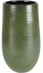 Donkergroene Ter Steege Hoge pot Zembla groen bloempot binnen 14 cm