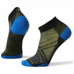Smartwool - PhD Run Ultra Light Low Cut - Hardloopsokken maat XL, zwart/blauw/olijfgroen
