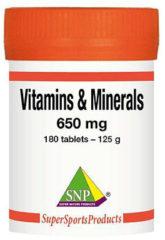 SNP Vitamins minerals complex 180 Tabletten