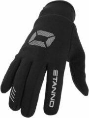 Zilveren Stanno Handschoenen - Maat 3 - Unisex - zwart/zilver