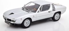 Zilveren Alfa Romeo Montreal 1970 - 1:18 - KK Scale