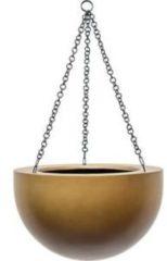 Gouden Plantenwinkel.nl Gradient hanging bowl matt honey M