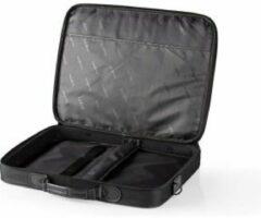 Nedis notebooktas met schouderriem voor 17 inch t/m 18 inch notebooks / zwart