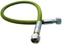 Gele Bonfix RVS gasslang Superieur M24 flexibel 100cm