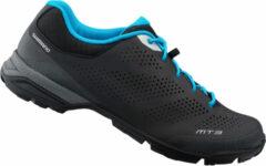 Shimano MT301 Tour Fietsschoenen - Maat 41 - Unisex - zwart/blauw