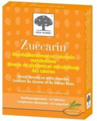 New Nordic Zuccarin – Gezonde bloedsuikerspiegel en gezond metabolisme – Voedingssupplement met chroom en witte moerbei - 60 tabletten