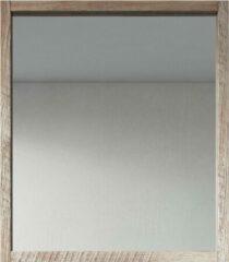Bruine Badplaats - Spiegel - Indiana - 700 x 800mm - Hout Look