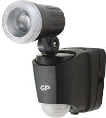 GP batterijen LED-buitenschijnwerper met bewegingsmelder Neutraal wit Zwart GP Batteries RF1.1 810SAFEGUARDRF1.1