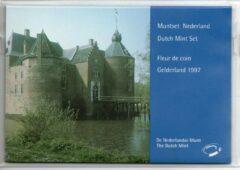 De Nederlandse Munt Nederland Jaarset Munten 1997 FDC - Gelderland