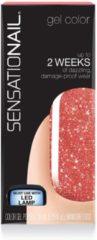 Rode Sensationail Gellak - Candy Cane Crush