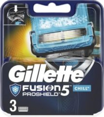 Gillette Fusion 5 Proshield Chill scheermesjes - 3 stuks