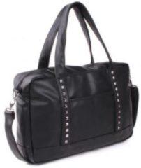 Vadobag Kidzroom Beauty Verzorgingstas Vrouwen - Zwart - Vegan Leather met studs