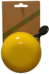 Gele BELLL Ding Dong groot geel op kaart - Fietsbel