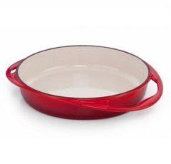 Rode Le Creuset Tarte Tatin taartvorm 28 cm