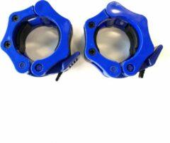 Northwest Lock Jaw Collar Set   Haltersluiting   50 mm   BLAUW