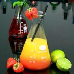 Transparante Bar@ Mad science cocktailglas - 500ml - OP = OP