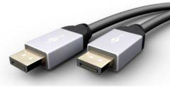 Goobay DisplayPort Aansluitkabel [1x DisplayPort stekker - 1x DisplayPort stekker] 5.00 m Zwart