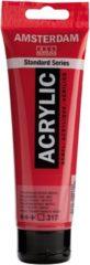Rode Royal Talens Standard tube 120 ml Transparantrood middel transparante acrylverf transparant rood middel