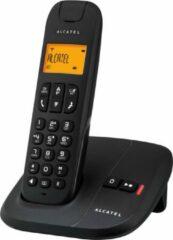 Zwarte Alcatel DELTA 180 VOICE DECT telefoon met beantwoorder - Pure sound en telefoonboek met 50 geheugens