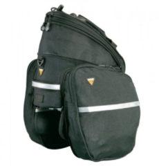 Zwarte Topeak RX Trunk DXP bagagedragertas met zijtassen - Bagagedragertassen