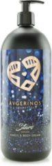 AVGERINOS HANDS AND BODY CREAM STARS 1 LITER - BODY LOTION - HANDCREME - HUIDVERZORGING