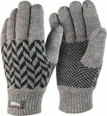 Blauwe Result thinsulate handschoenen grijs voor volwassenen S/M