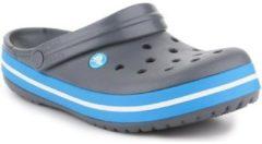Grijze Slippers Crocs Crocband 11016-07W