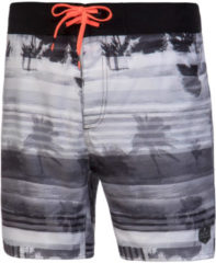 Zwarte Protest TORRES Heren Beachshort - True Black - Maat XXL