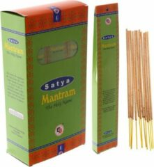 Satya - Mantram wierookstokjes - 132 stokjes