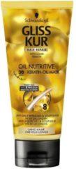 Schwarzkopf Gliss Kur Haarmasker oil nutritive 200 Milliliter