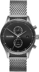 MVMT Voyager Sterling D-MV01-S2 - Horloge - Staal - Zilverkleurig - 42mm