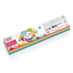 Craft Sensations Vlechtstroken | 250 stuks | 5 kleuren | 70 gram | knutselen voor kinderen| hobbypapier