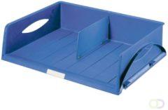 Leitz Sorty Brievenbakje Jumbo Blauw A3 49 x 38 5 x 12 5 cm