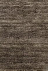 Impression Rugs Design Collection Loft Effen Bruin vloerkleed Laagpolig - 160x230 CM