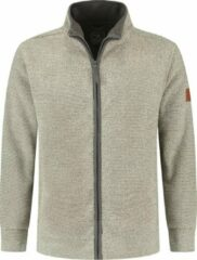 MGO Leisure Wear MGO King - Heren Fleece vest - Grijs - Maat XXXL