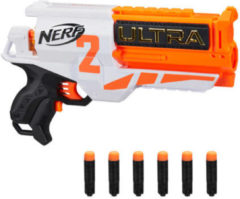 Nerf Schietspeelgoed Ultra Two Junior 34x21x6 Cm Wit/oranje 7-delig